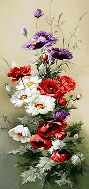 گل و گلدان -کدD112