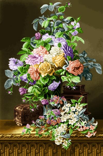 لوازم بافت گل و گلدان