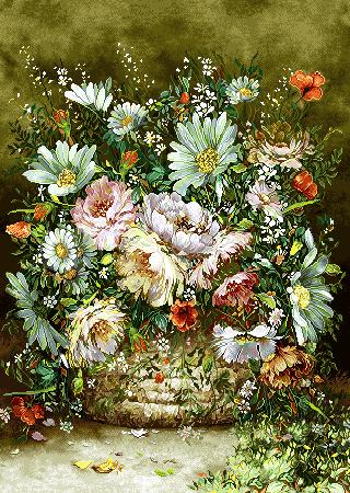 گل و گلدان -کدD106
