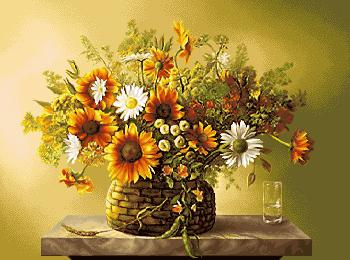 نام طرح : گل و گلدان -کدD110