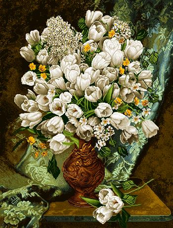 گل و گلدان -کدD113