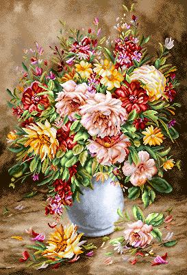 نام طرح : گل و گلدان -کدD97
