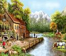 دهکده کنار رود
