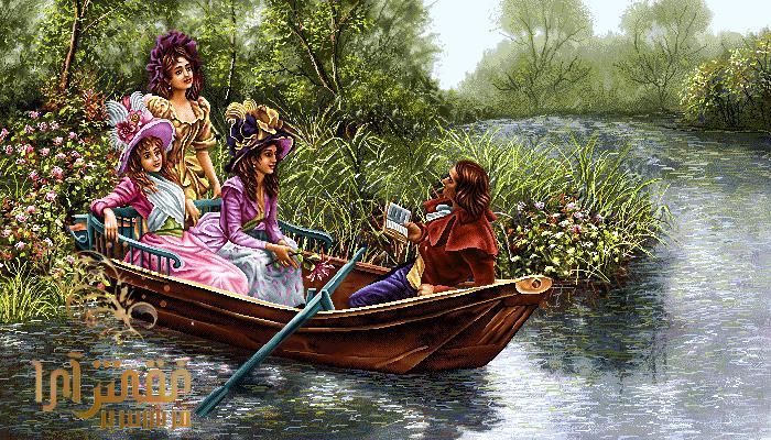 نام طرح : قایق عشق جدید  - کد E254