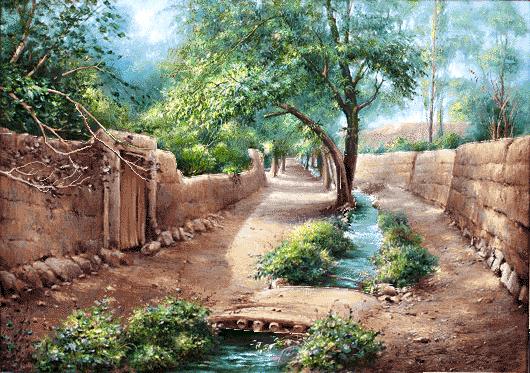 کوچه باغ بهاری  -کدF236