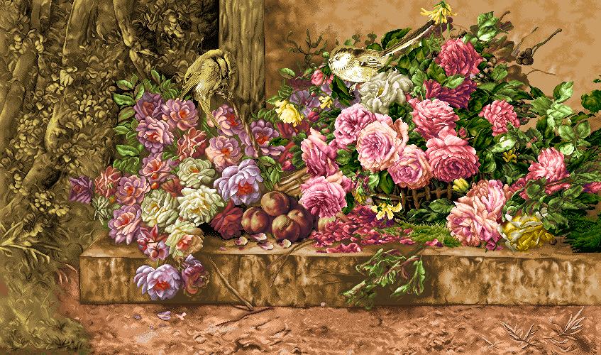 گل و گلدان - كد D720