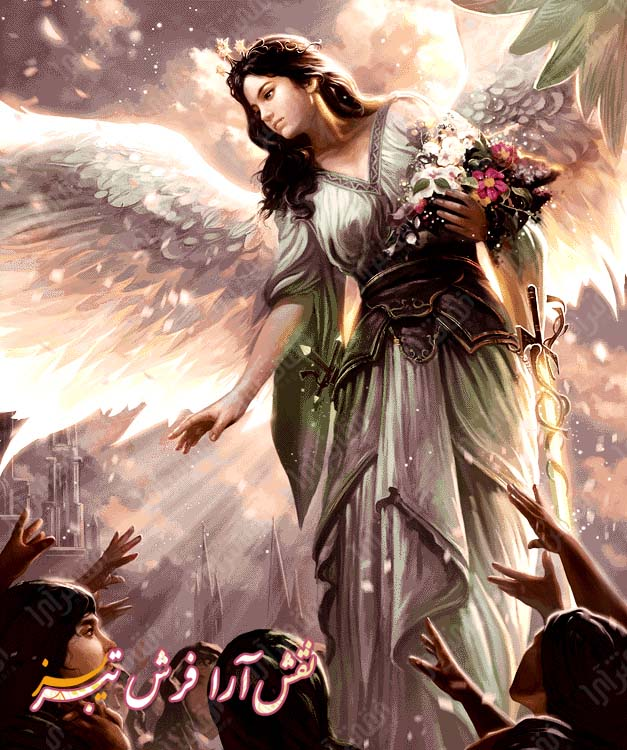 فرشته مریم -کد E1001