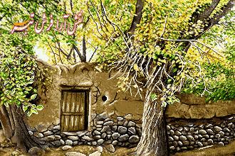 نخ و نقشه کوچه باغ