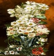 نخ و نقشه گل و گلدان -کد D - 1010