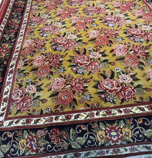 آموزش کامل شستشوی فرش و تابلو فرش دستبافت 4