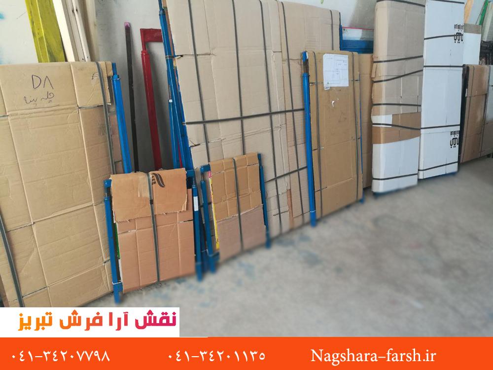 عکس از کارگاه تولید تابلو فرش و فرش نقش آرا فرش تبریز