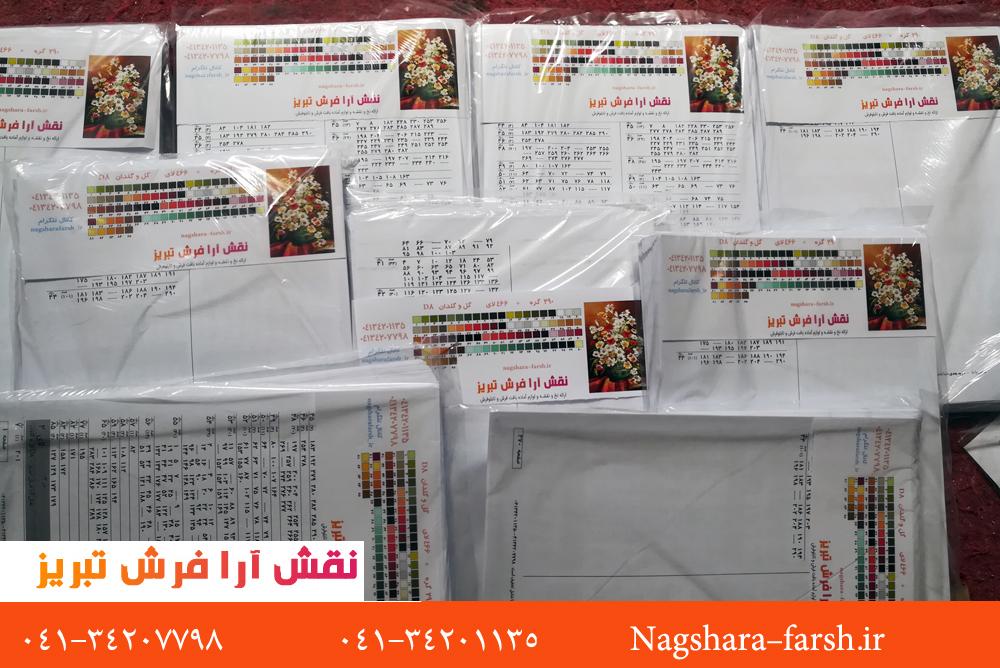 برای اولین در کشور صادرات لوازم آماده بافت قالیبافی از نقش آرا فرش به کشور آذربایجان 4