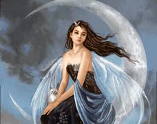 دختر و ماه - کد E-101