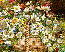 گل و گلدان  -کدD1011